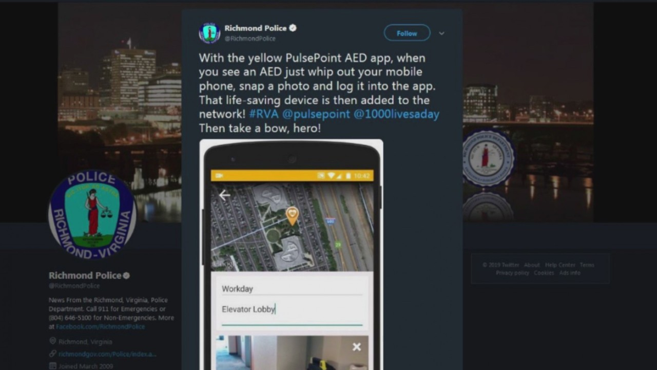 Pulsepoint app could help save lives in Richmond