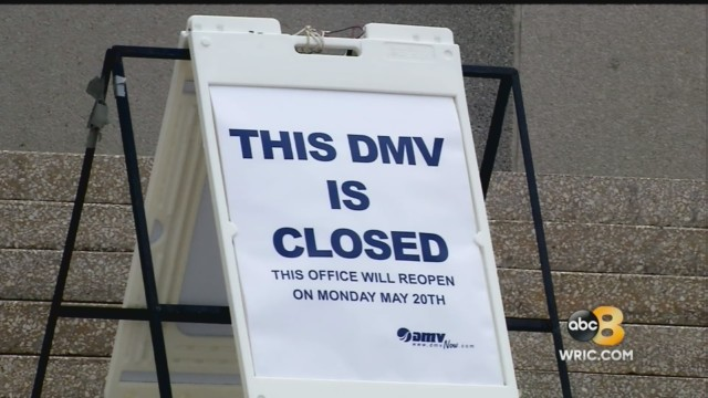 Richmond DMV closed for renovations: 'I didn't know until I drove up'