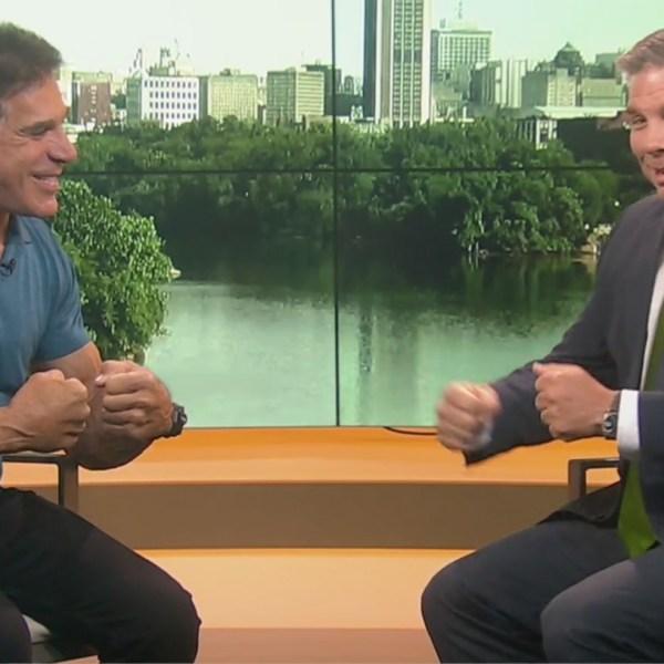 The Original  Incredible Hulk visits 8news