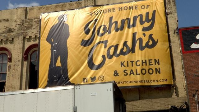Johnny Cash Themed Bar Preparing To Open In Downtown Nashville