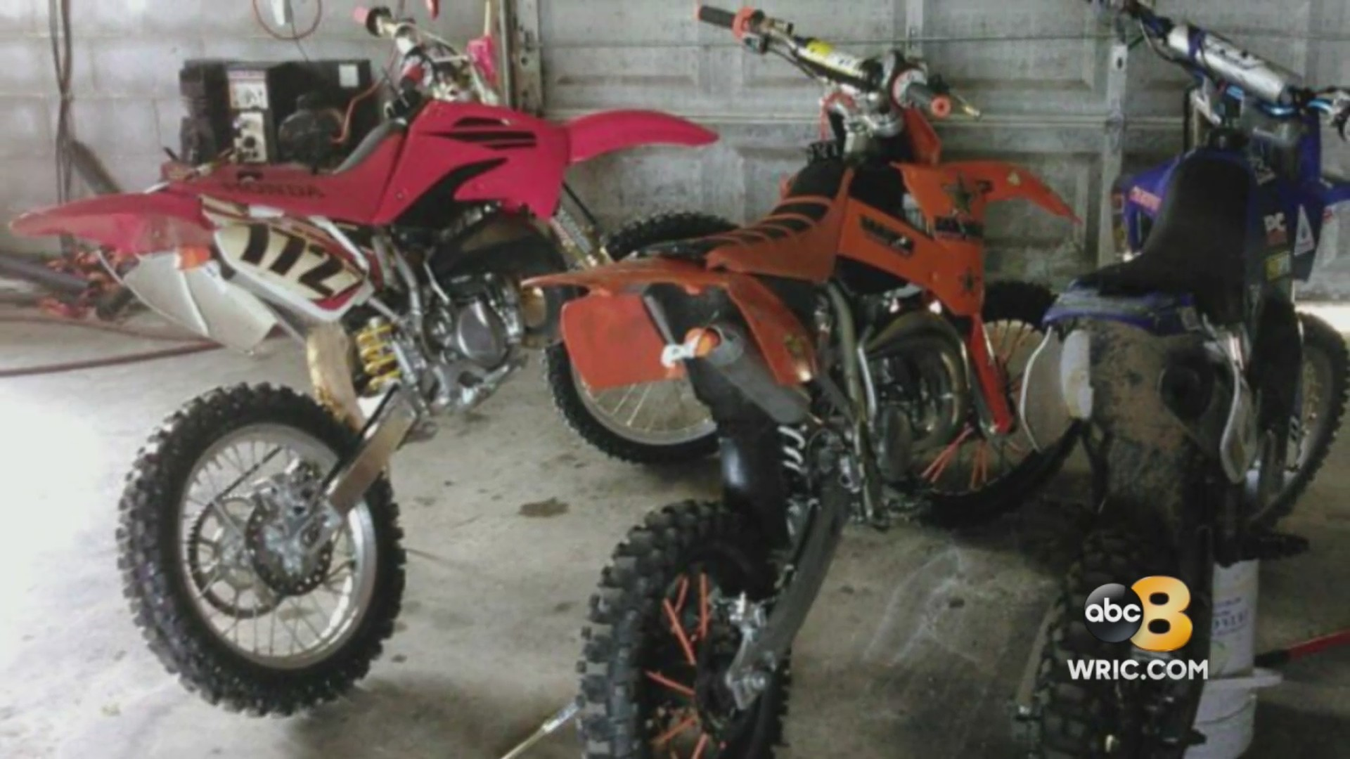 30k Worth Of Motocross Bikes Equipment Stolen From Amelia Family