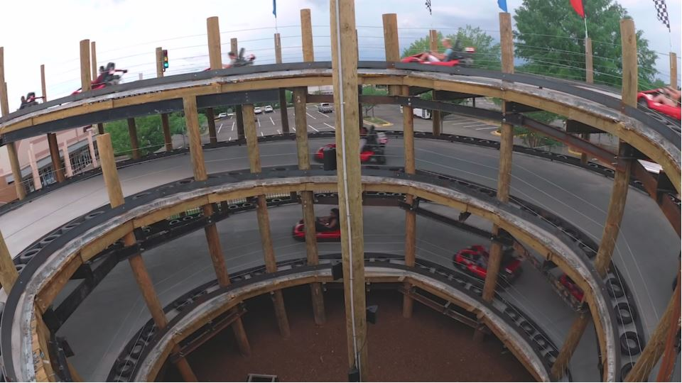 Virginia S First Multi Level Go Kart Track Opens This Weekend