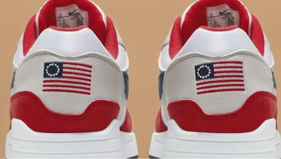 Nike pulls 'Betsy Ross' flag sneaker