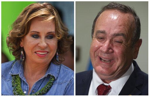 Sandra Torres, Alejandro Giammattei