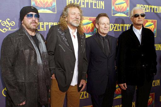 John Paul Jones, Robert Plant, Jimmy Page, Jason Bonham