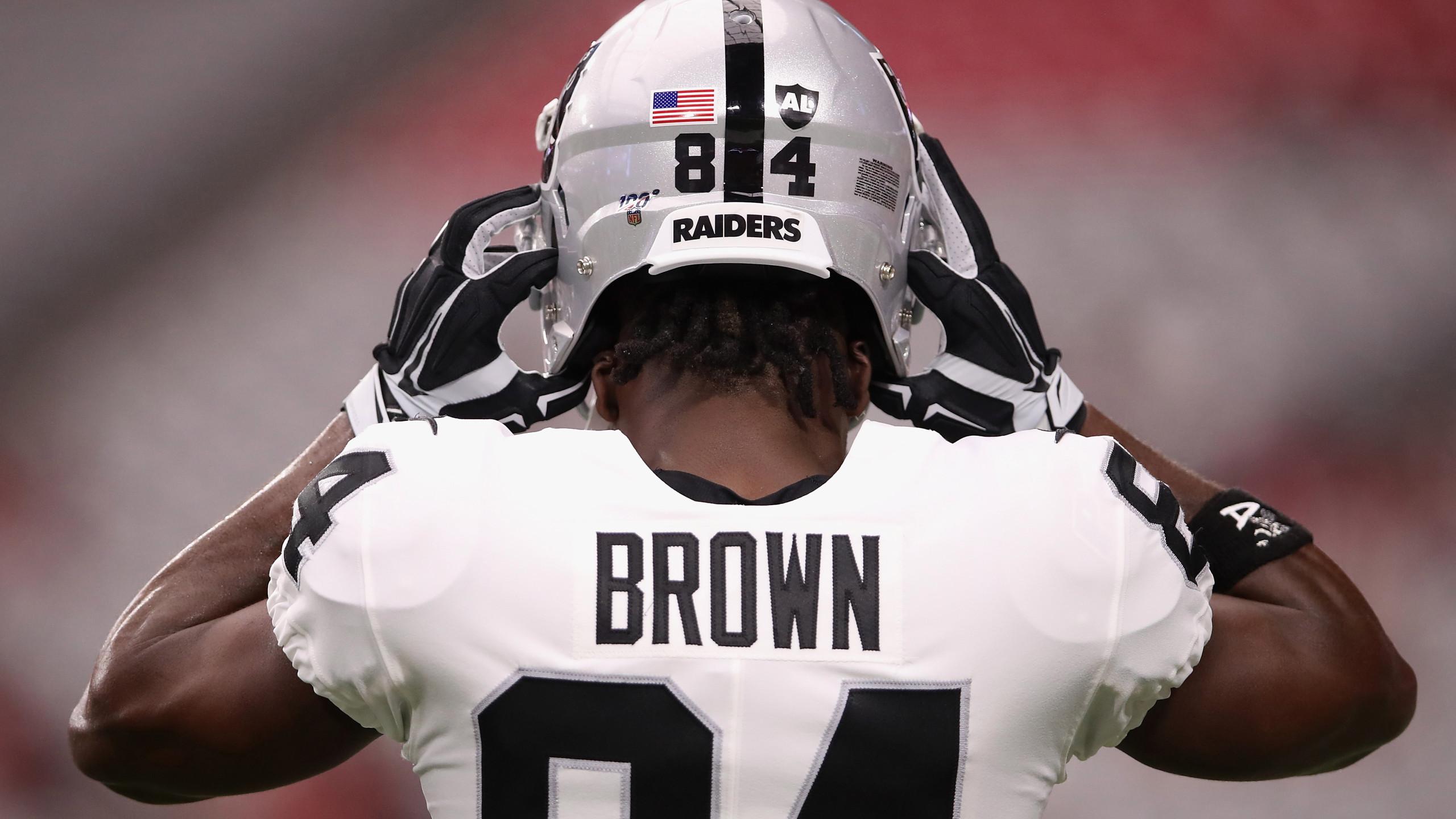 Raiders release WR Antonio Brown following Instagram post