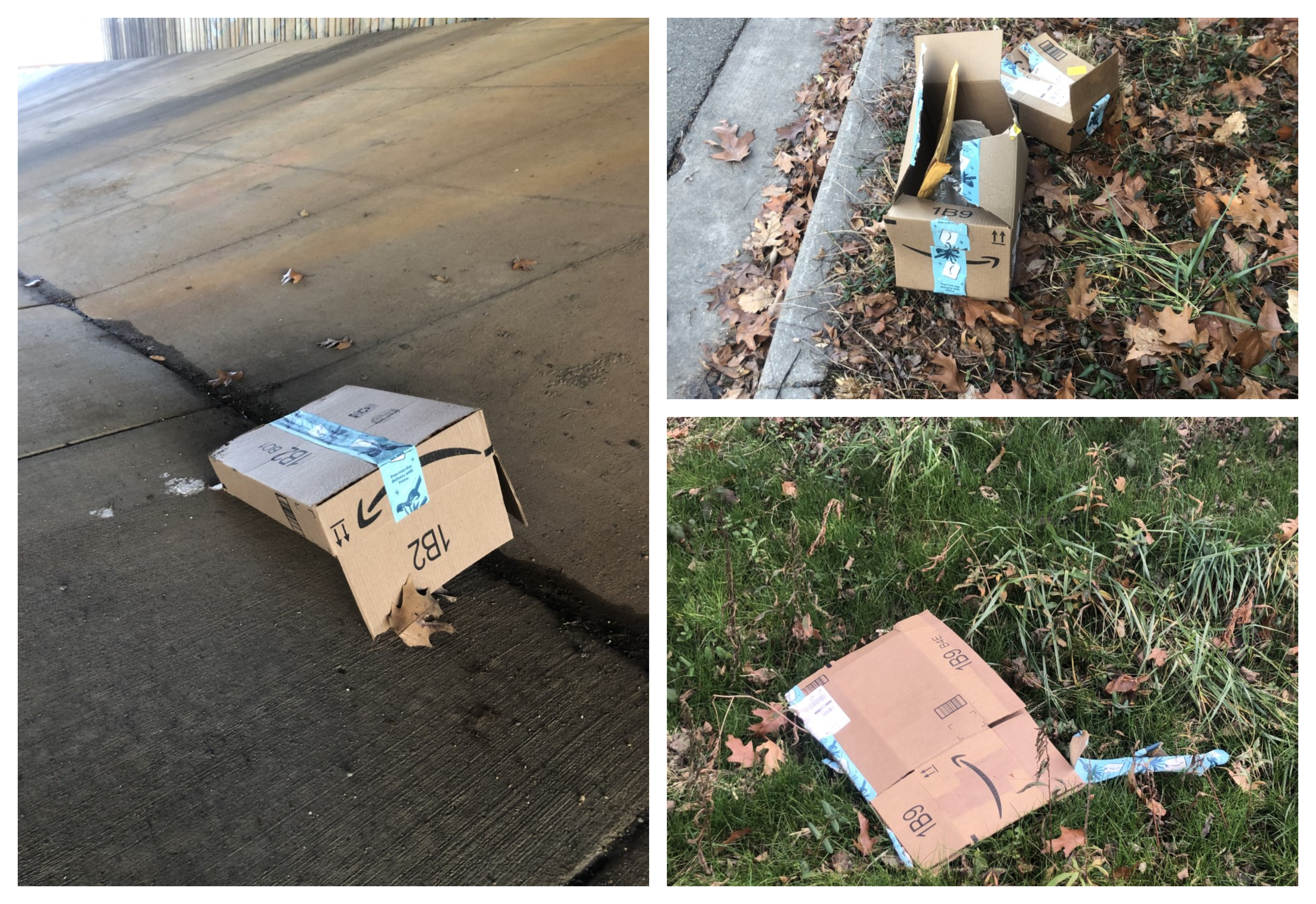 Neighbors Puzzled By Ripped Open Discarded Amazon Boxes 8news