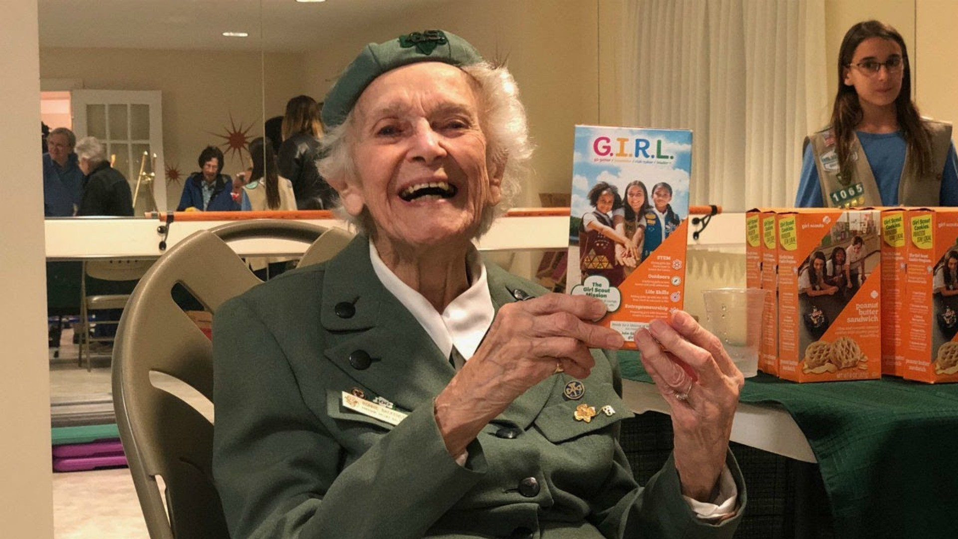 Image result for ronnie the girl scout