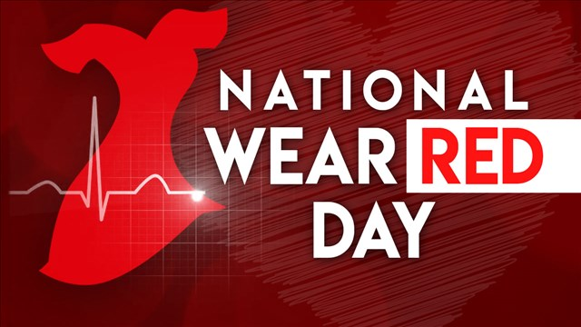 National Wear Red Day on Friday – Raising awareness of cardiovascular  disease in woman | 8News