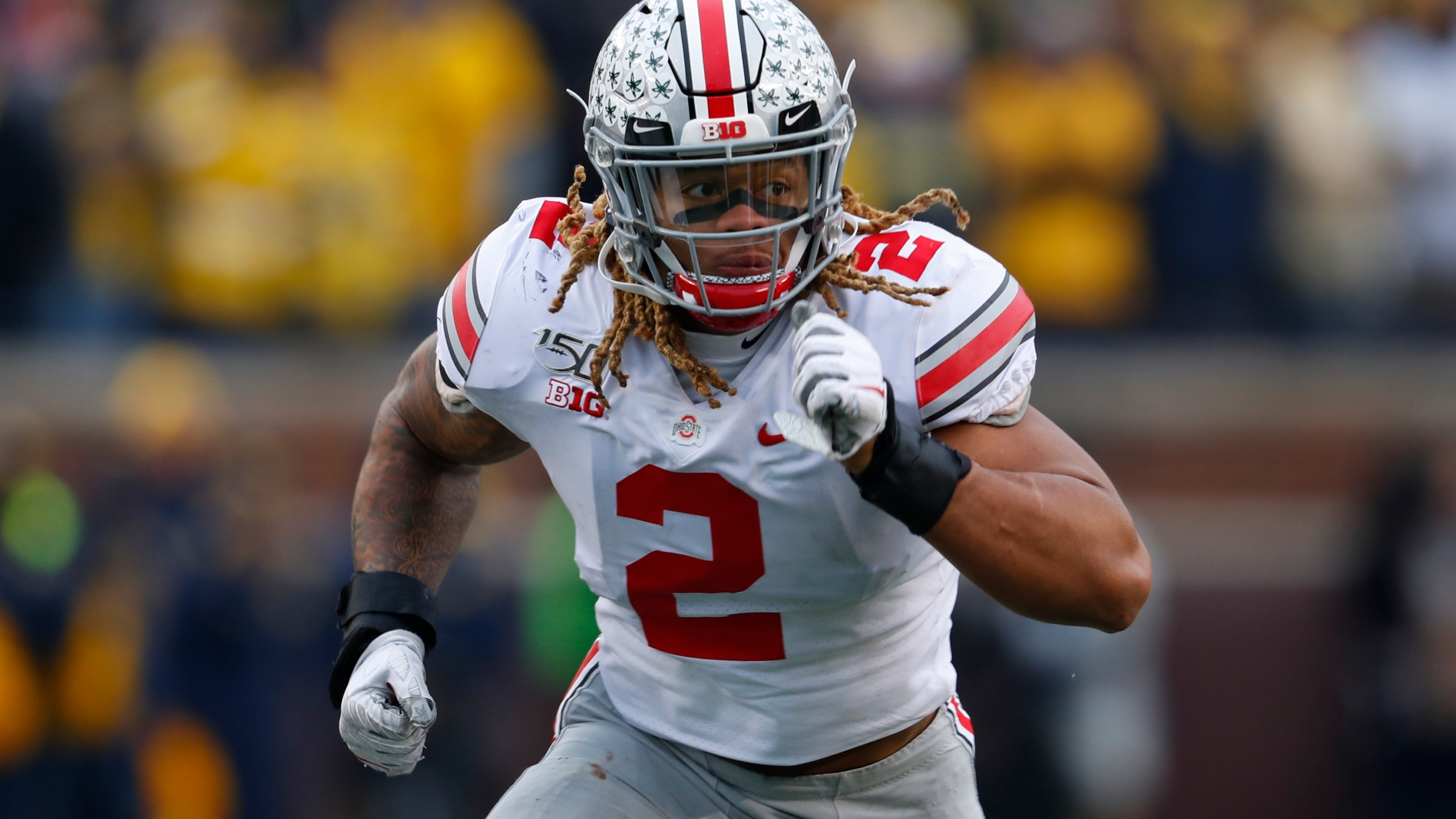 Redskins Select Ohio State S Chase Young With 2nd Overall Pick In Nfl Draft 8news