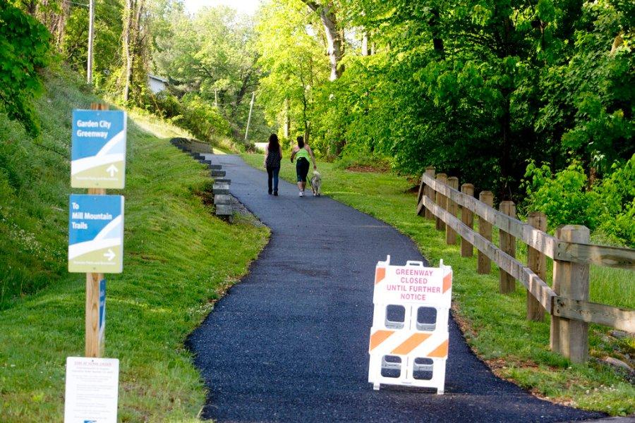 VIRGINIA REOPENS - Garden City Greenway in Roanoke
