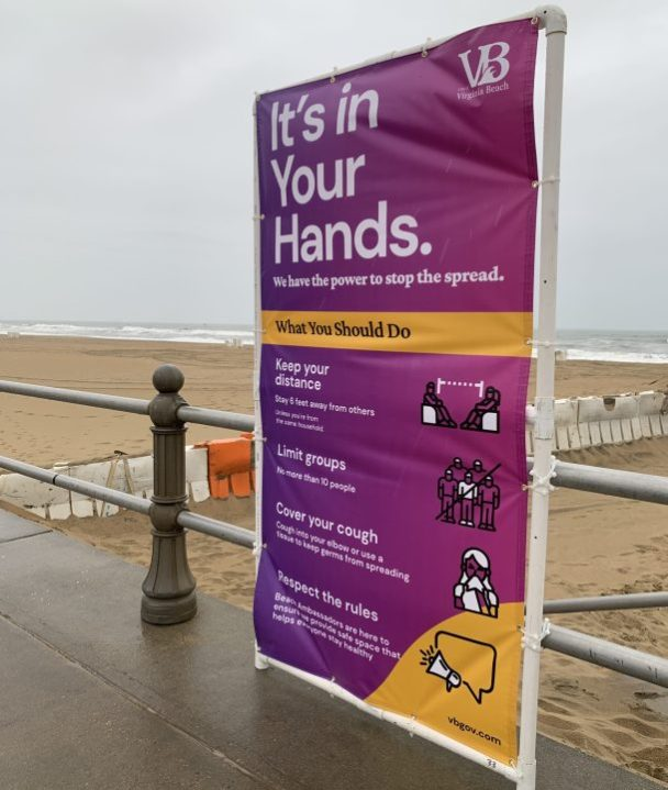 Virginia Beach reopens beaches today with signs, ambassadors and more