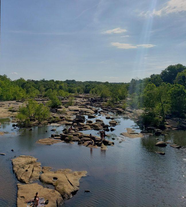 VIRGINIA REOPENS – Belle Isle in Richmond