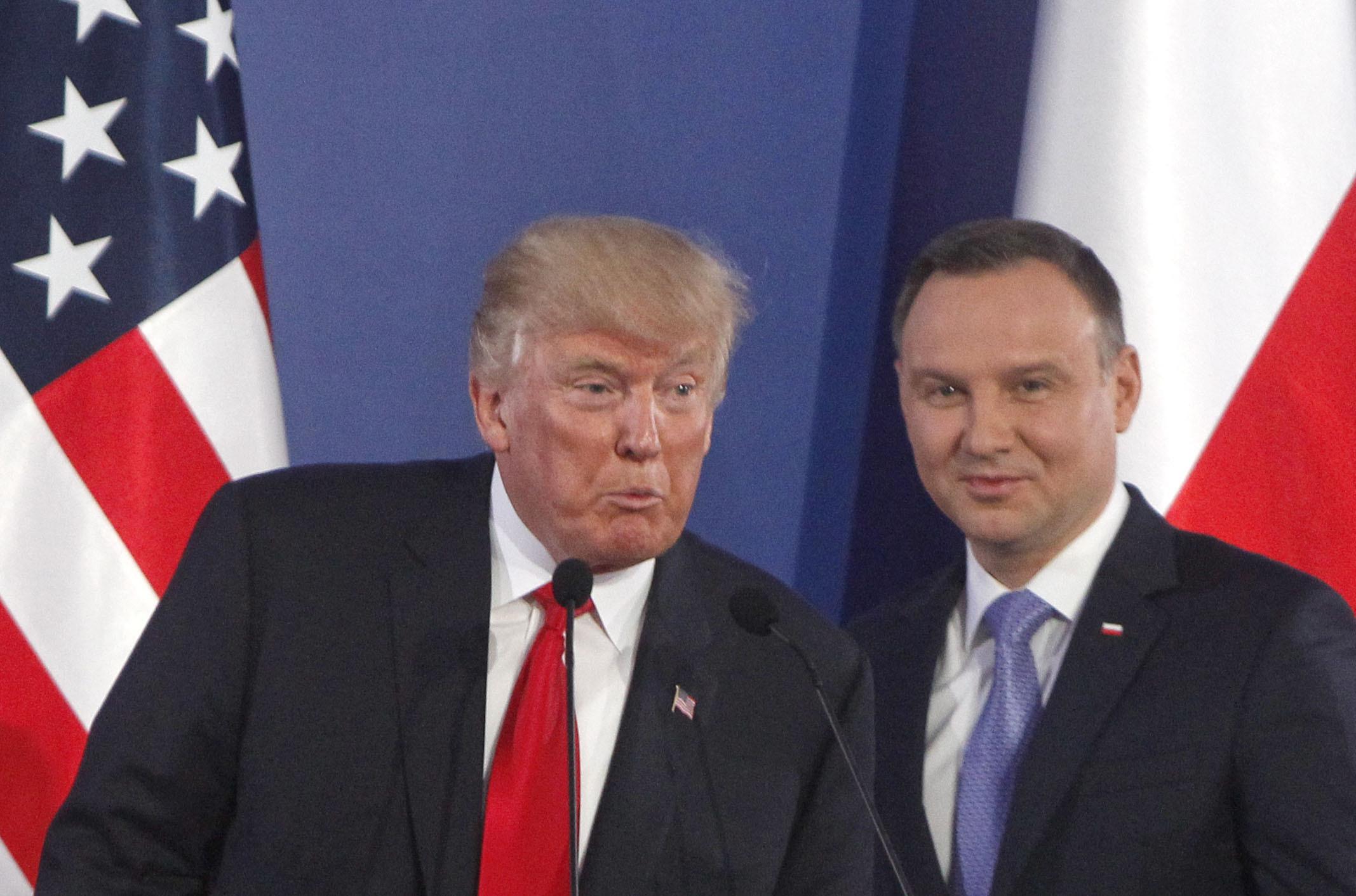 Donald Trump, Andrzej Duda