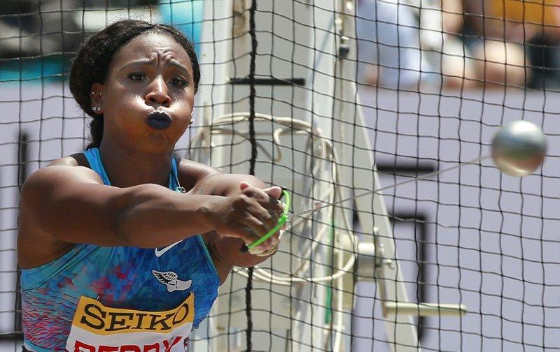 olímpica Gwen Berry