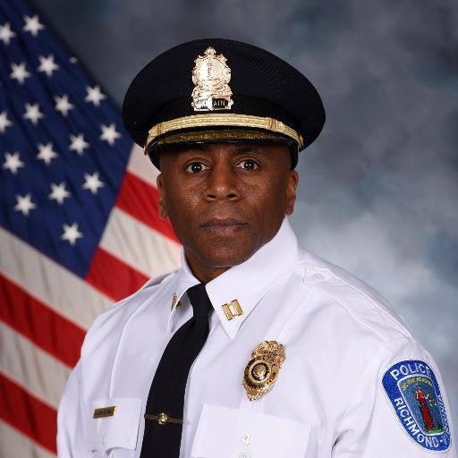Jody Blackwell, interim  Chief of the Richmond Police Department