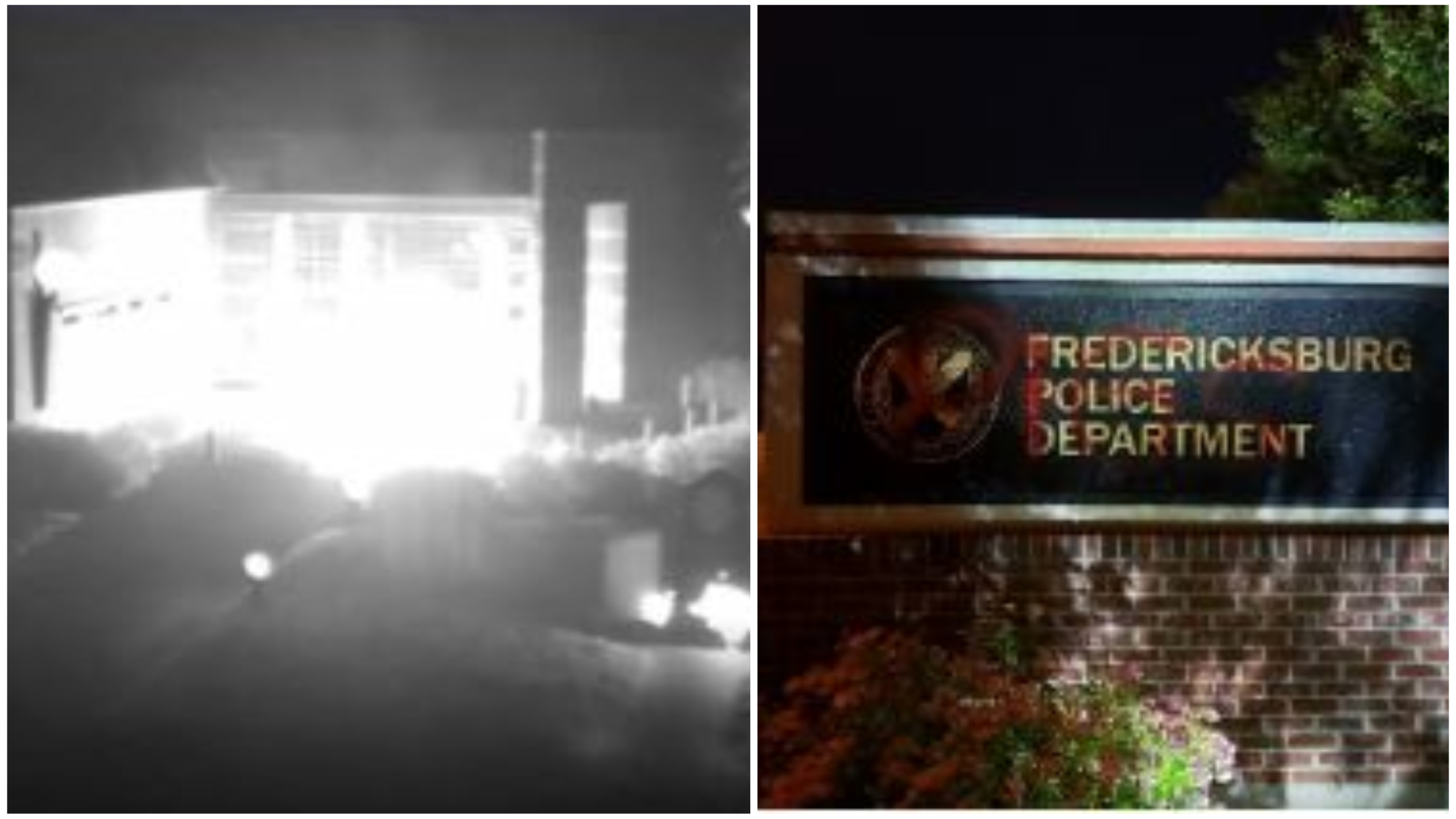 Fredericksburg_PD_HQ_vandalized_arson