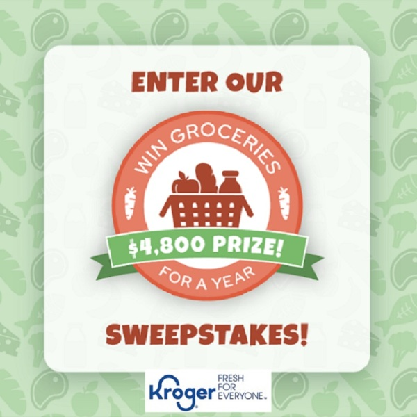 Enter the Grocery Sweepstakes