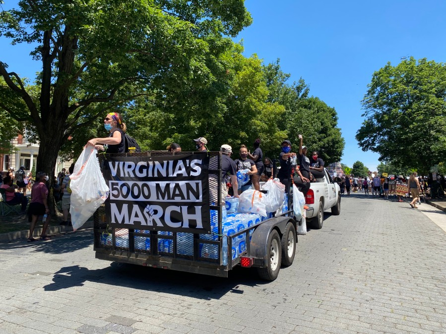 Virginia's 5000 Man March