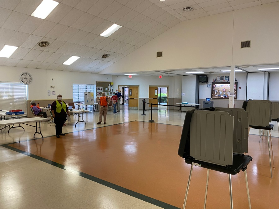 Polling location in Chesterfield