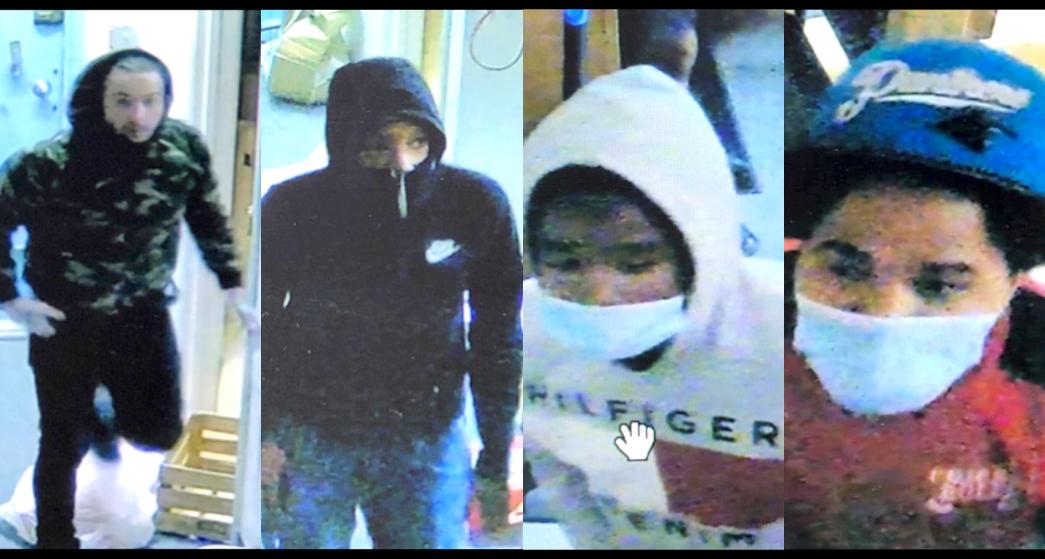 Suspects Sought in Denim Shop Burglary