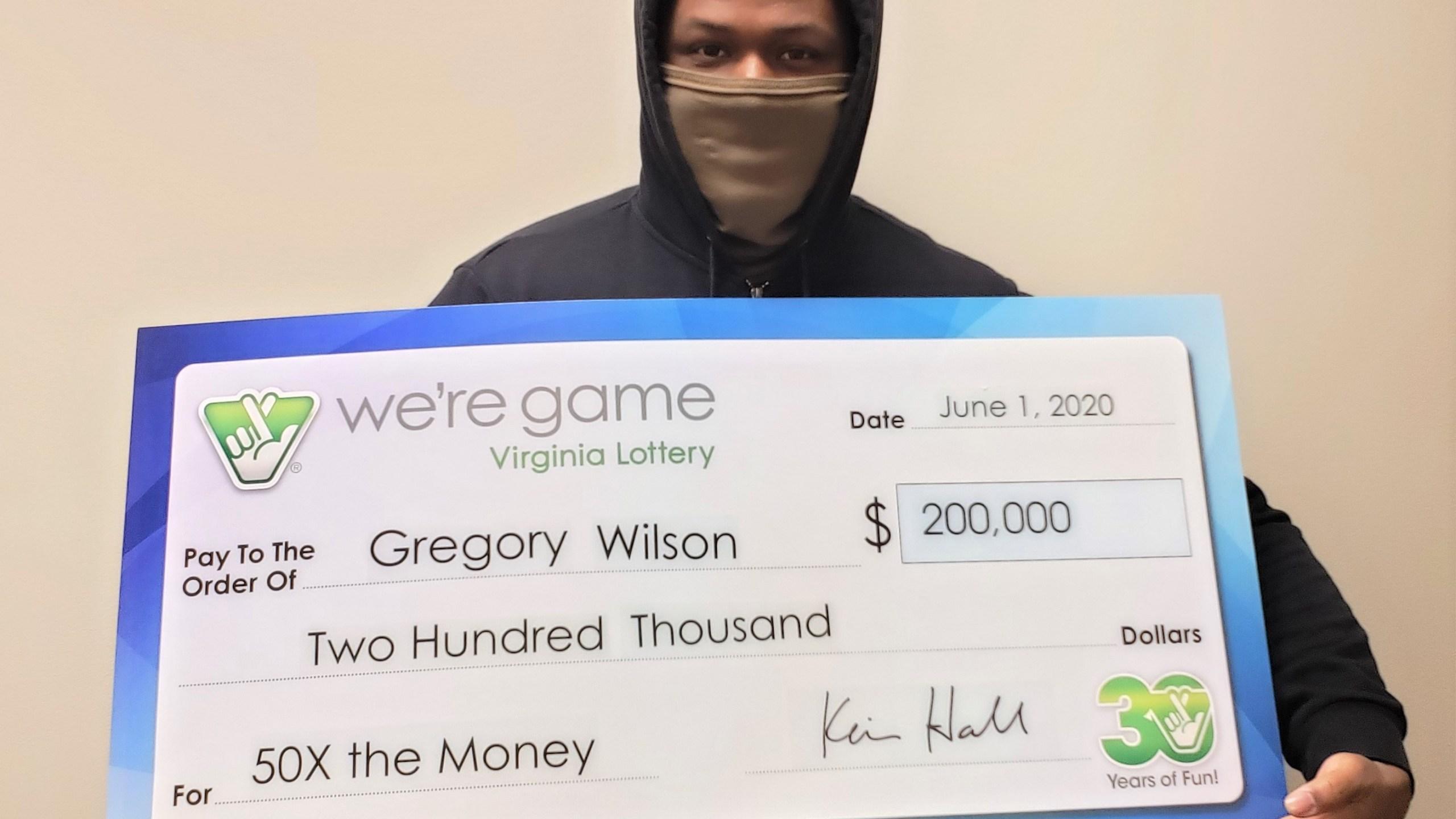 Dinwiddie county virginia lottery winner