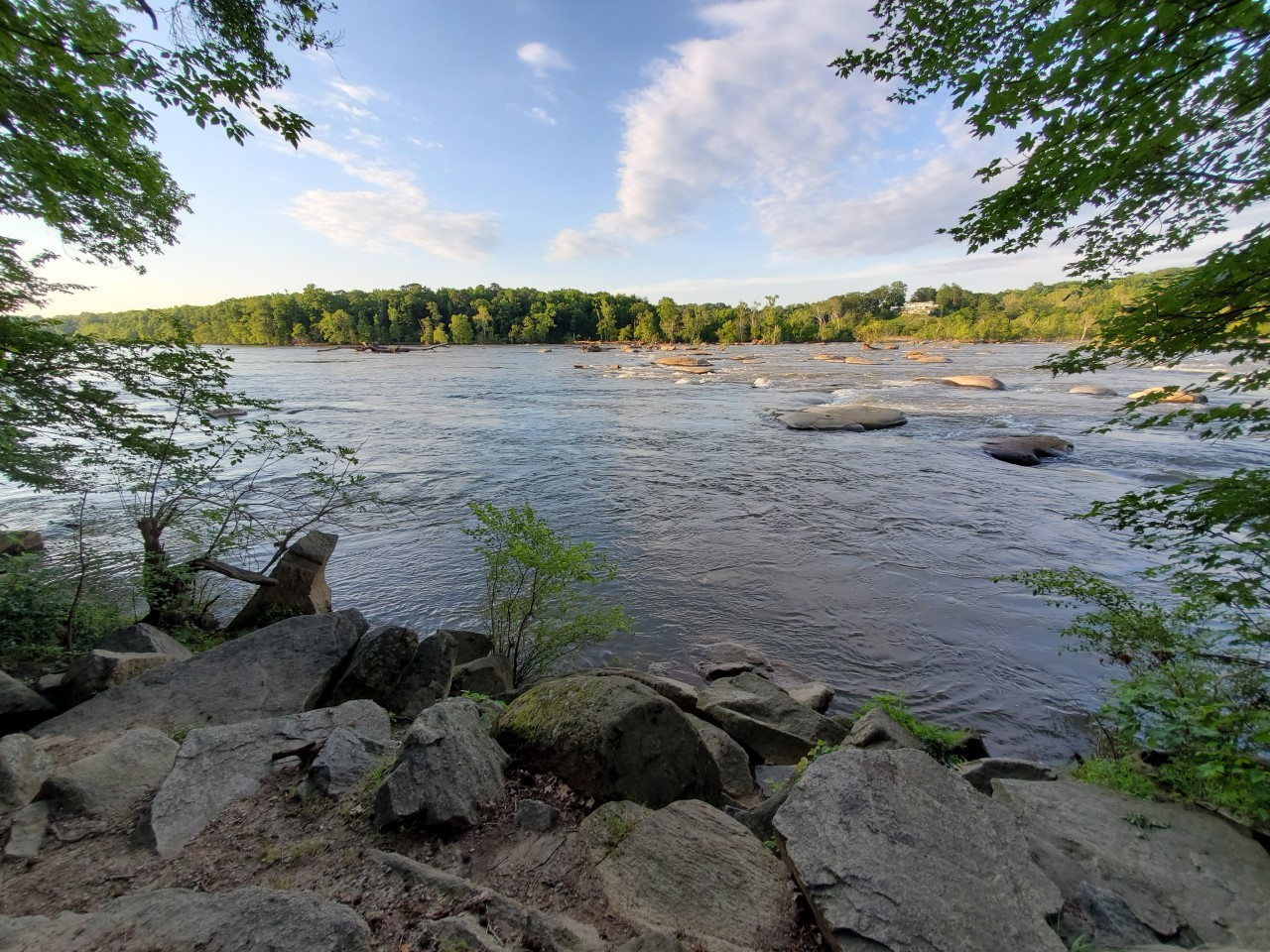 James River at Pony Pasture