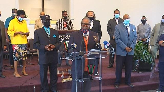 Richmond faith leaders fear 'agitators' are hijacking social justice movement, plead for peace thumbnail