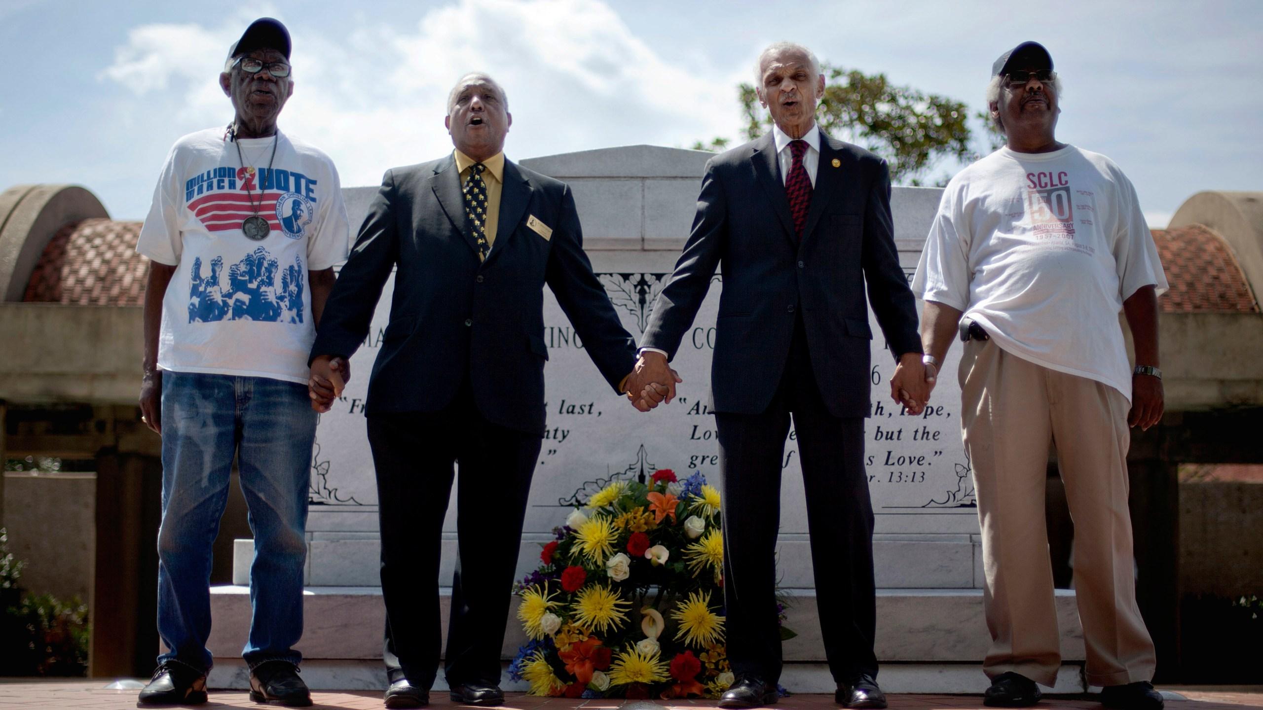 Ralph Worrell, Dr. Bernard Lafayette Jr., C.T. Vivian, Frederick Moore