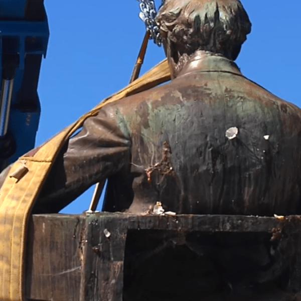 Maury statue