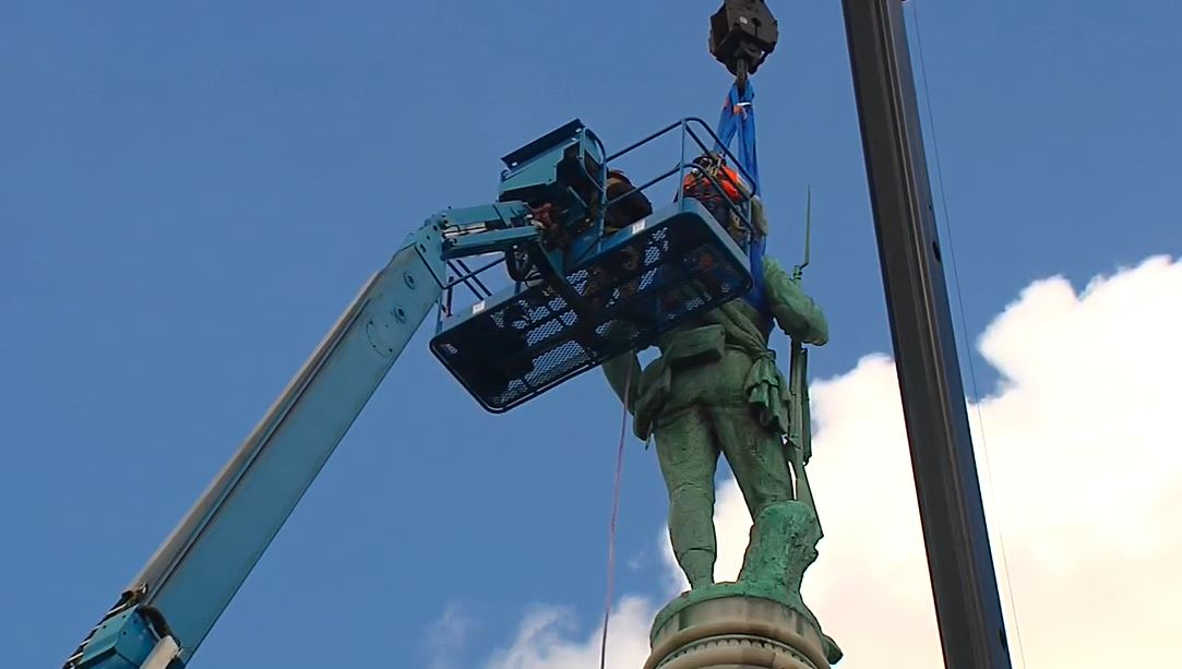 removing libby hill statue