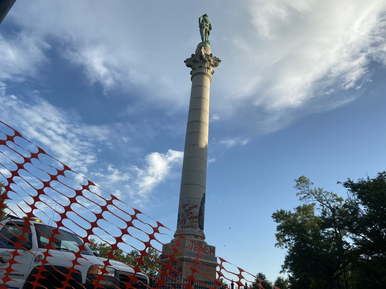 Confederate Soldiers and Sailors Statue