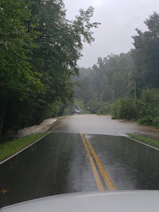 Flooding on Pinetta Drive