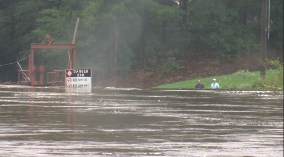 Flooding over the weekend