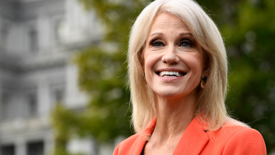 Former White House counselor Kellyanne Conway: 'I tested ...