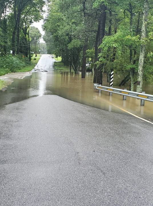 Hopewell Police reported that Davis Road is closed
