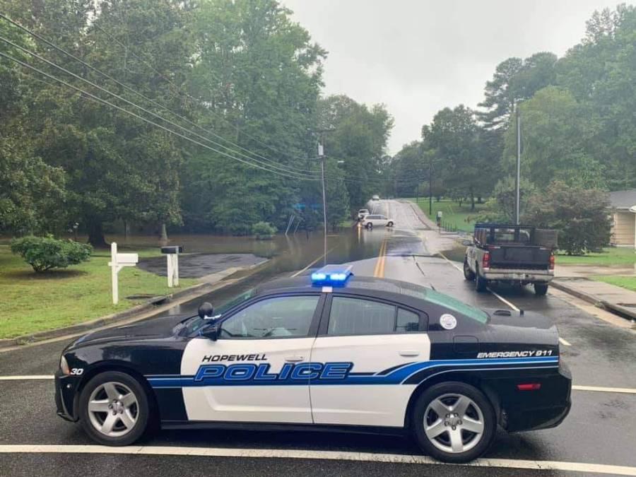 Jackson Farm Road in Hopewell, Virginia