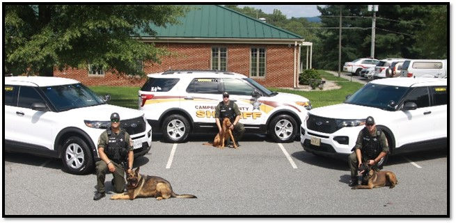 Campbell County Sheriff's Office K9