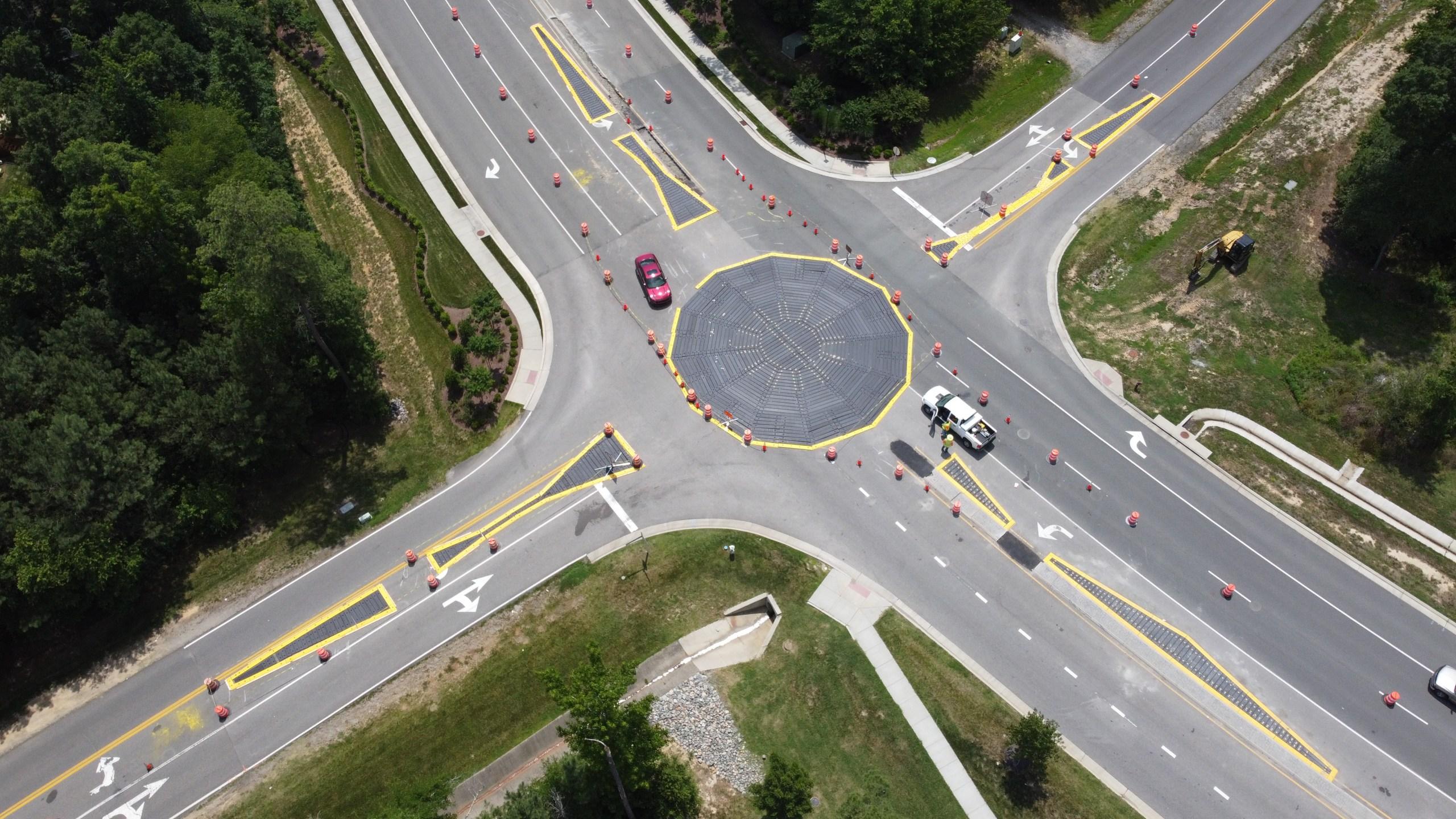 Modular roundabout