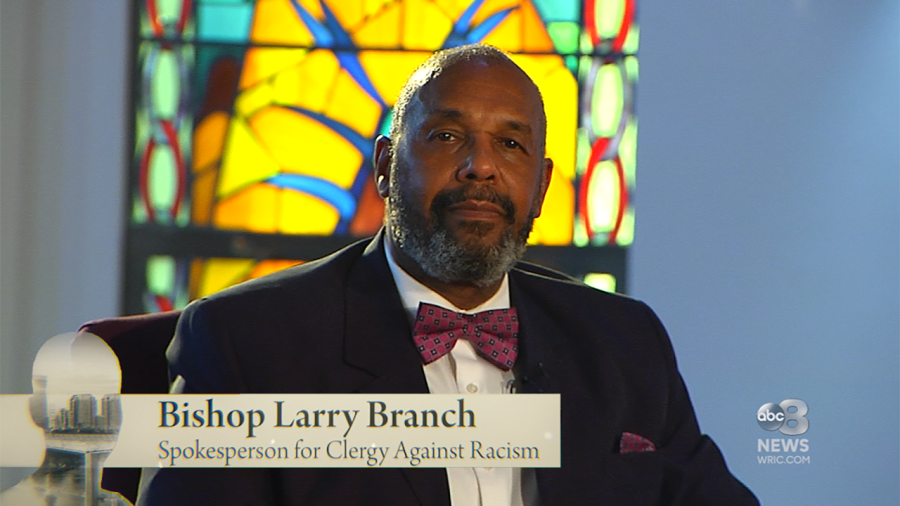 Bishop Larry Branch, Spokesperson for the Clergy Against Racism