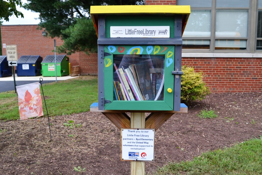 United way free little library