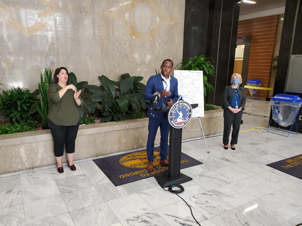 Mayor Stoney introduces new