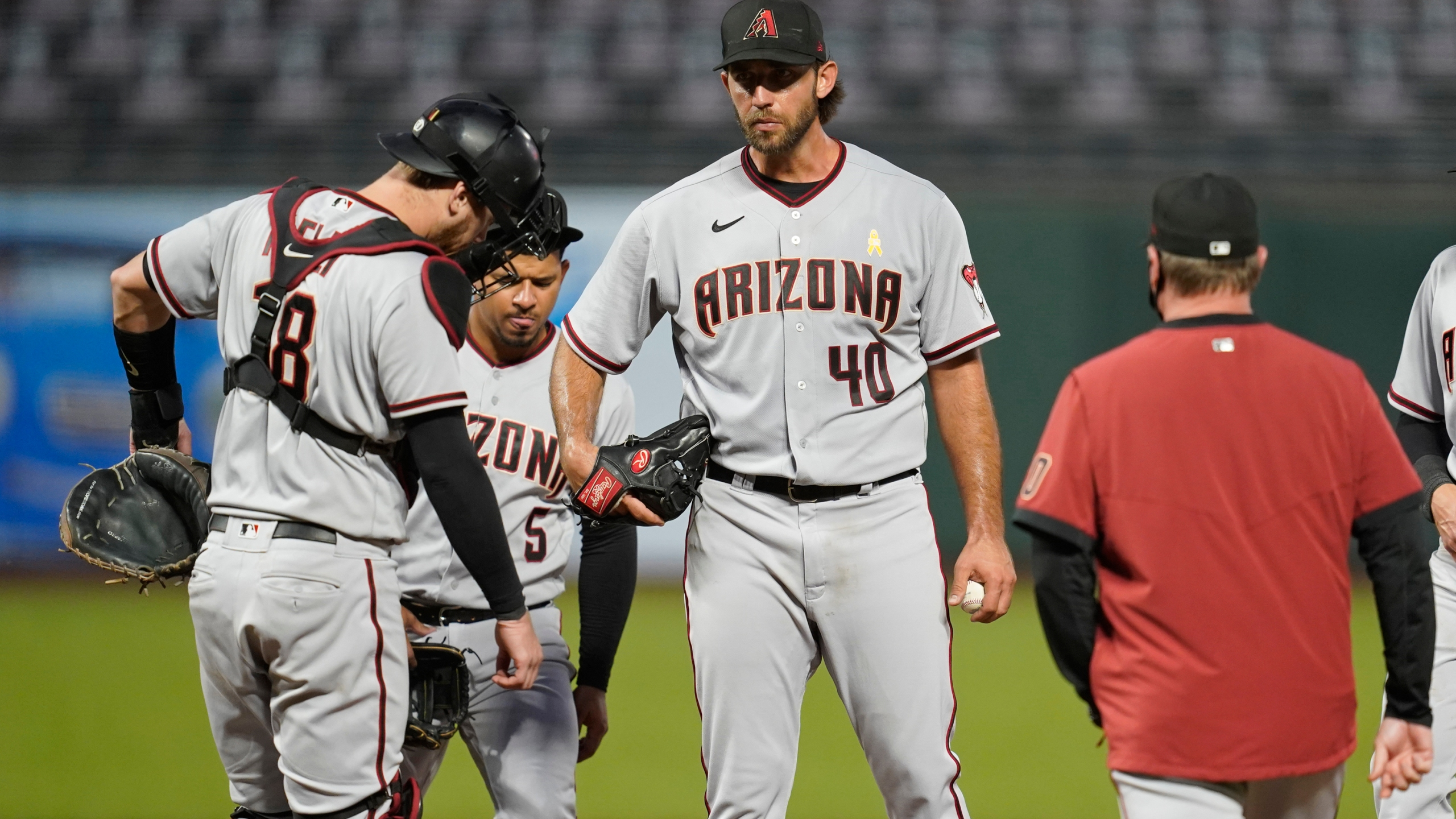 Madison Bumgarner, Eduardo Escobar, Carson Kelly