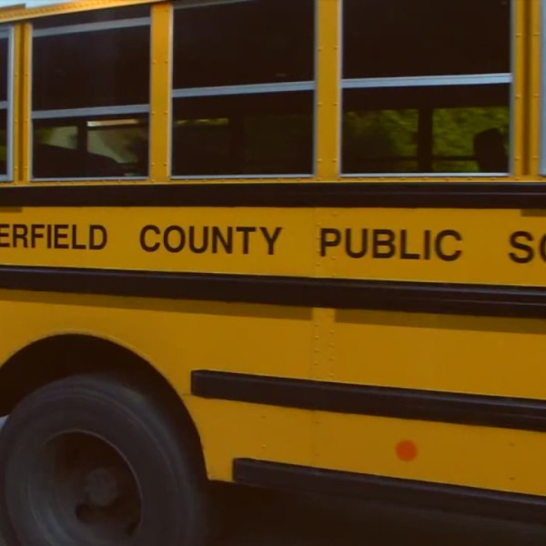 chesterfield county school bus