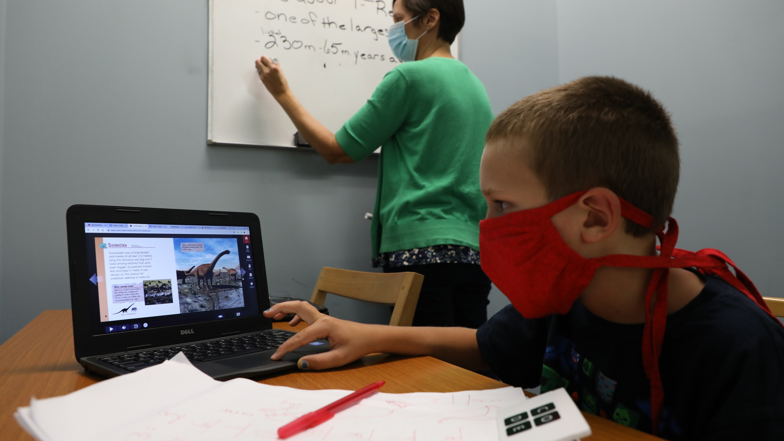 Chesterfield County Public Library's virtual learning and telework space