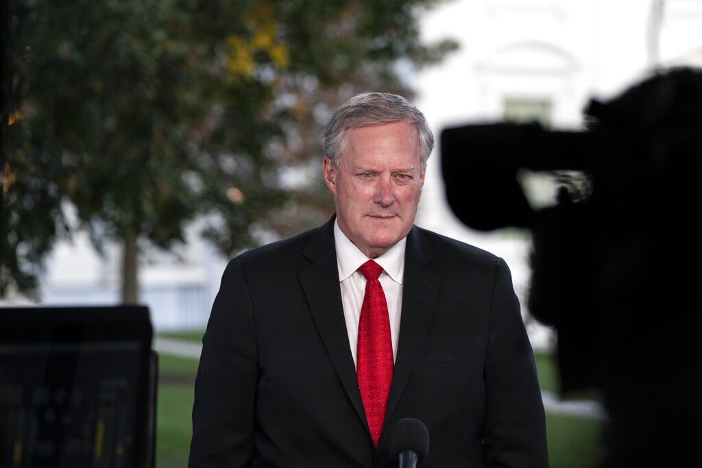 White House Chief Of Staff Mark Meadows Ignored Virus Rules At His Daughter S Wedding Report Says 8news