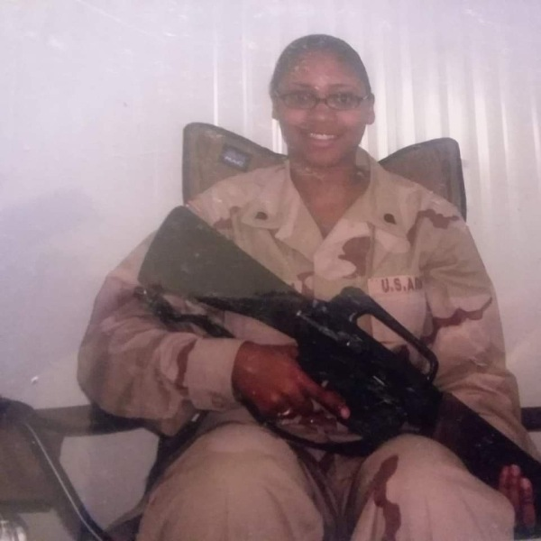 Lakia Harris, from Henrico County, served in the U.S. Army from 2002-2005.