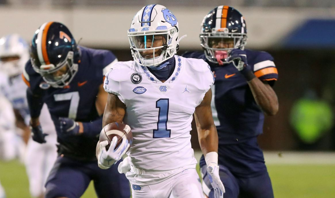 Unc Moves Into Top 25 College Football Rankings Liberty Out After Loss To Nc State 8news