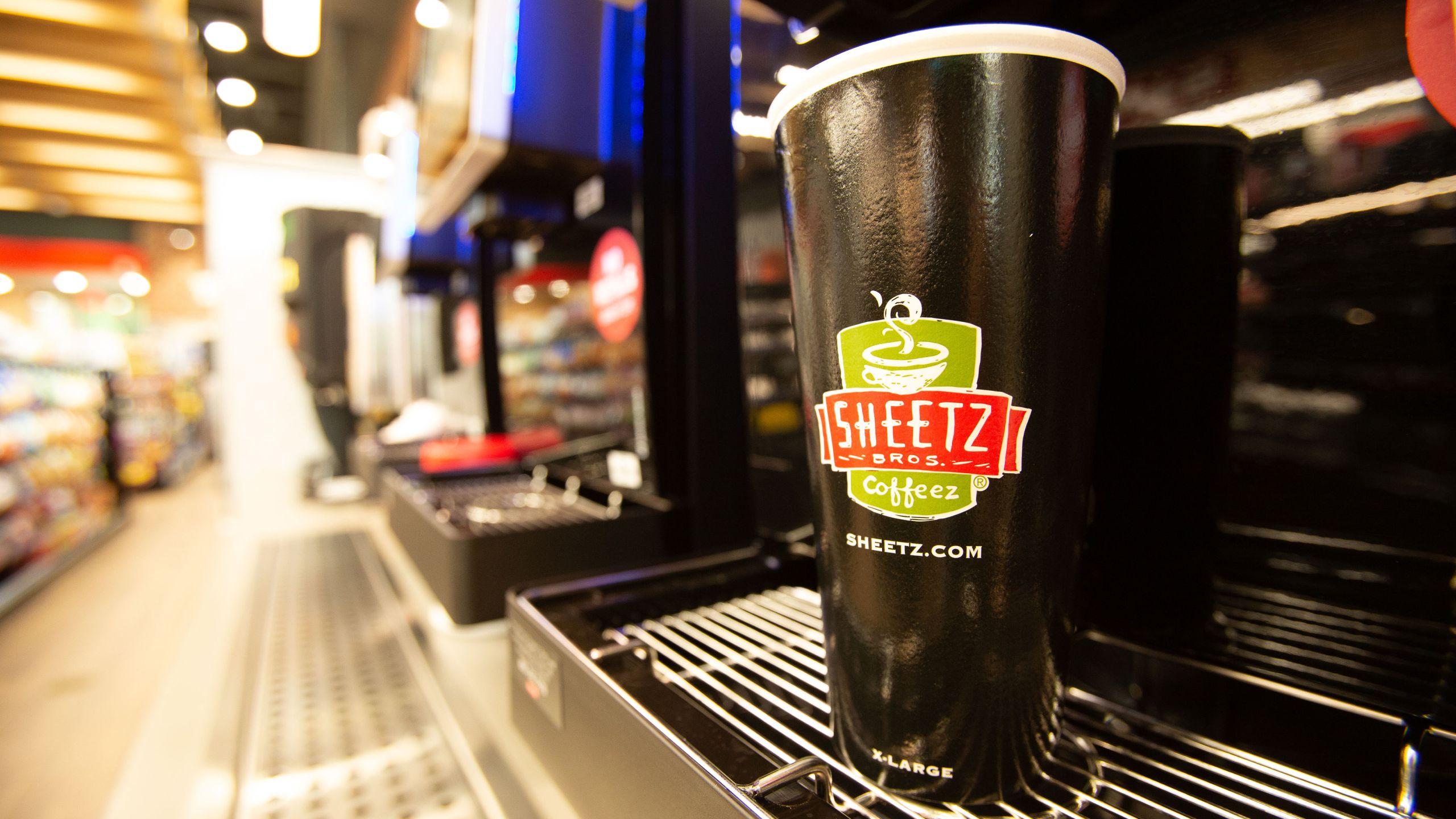 Sheetz self serve coffee