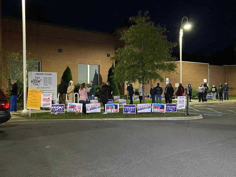 Central Virginia election day